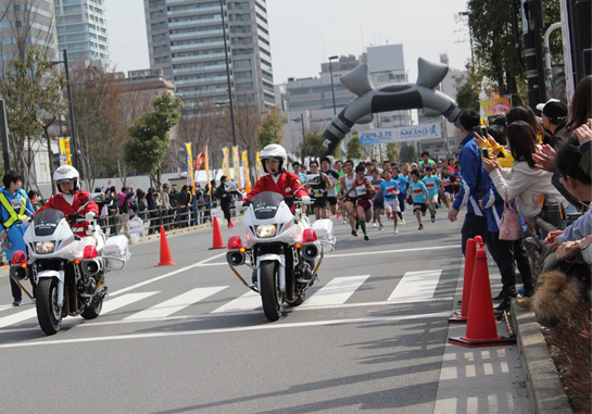 Operating cooperation of Nakano Running Festa